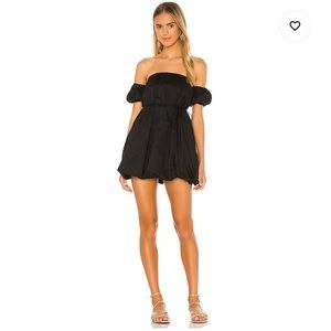 Lovers & Friends Black Mini Dress SZ XXS.